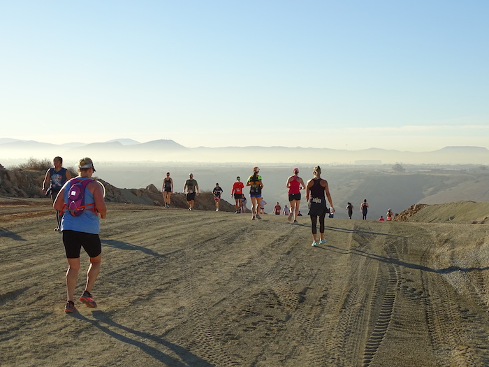 Runners and walkers were treated to breathtaking views of San Diego County when they reached the top of Vulcan Materials Company's 277-acre quarry.