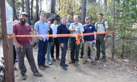 Trail Opening Ceremony at Rush Creek Lodge at Yosemite