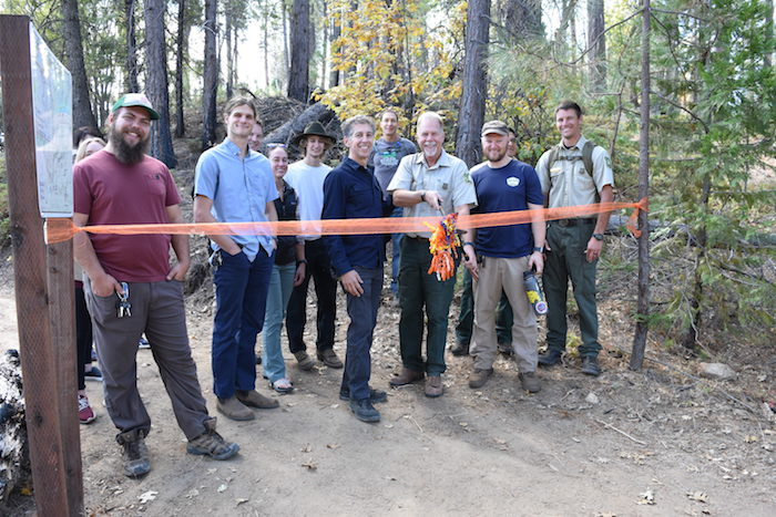 Trail Opening Ceremony at Rush Creek Lodge at Yosemite