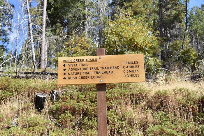 Rush Creek Lodge's Trio of Trails