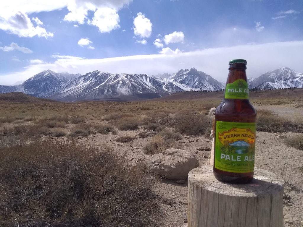 Earn Your Beer #114 Sierra Nevada beer in Eastern Sierra