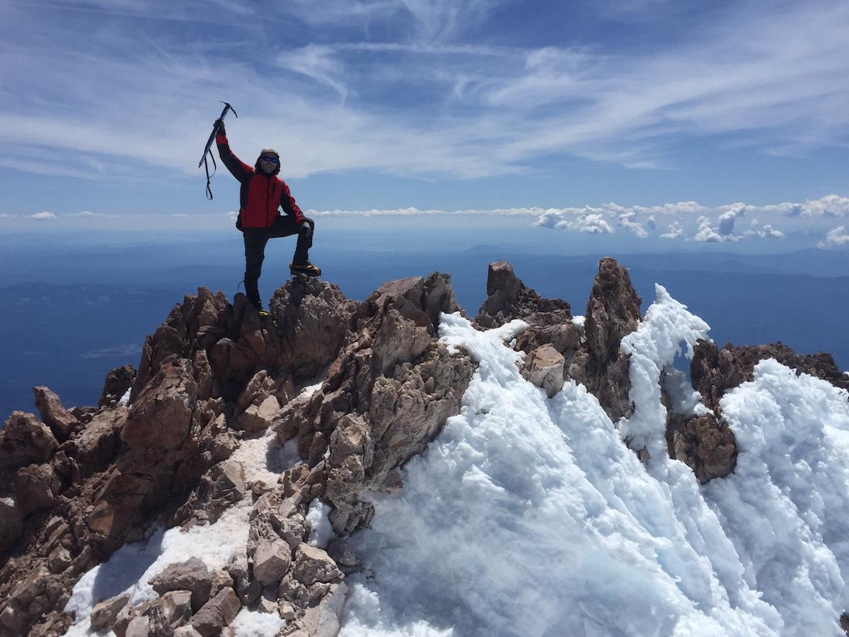 Mount Shasta summit photo