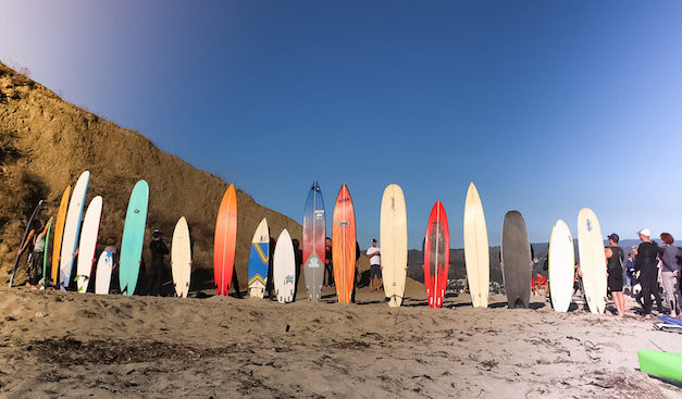 Mavericks Surf Awards Ceremonial Paddle