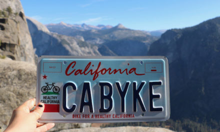 Gift the Cyclists on Your Holiday List with California Bicycle-Themed License Plate