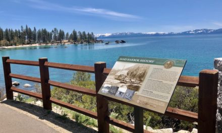 Tahoe East Shore Trail Transformed Into an Interpretive Trail