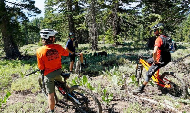 TAMBA Begins Reconstruction of Upper Tyrolian Trail With Support From the Tahoe Fund