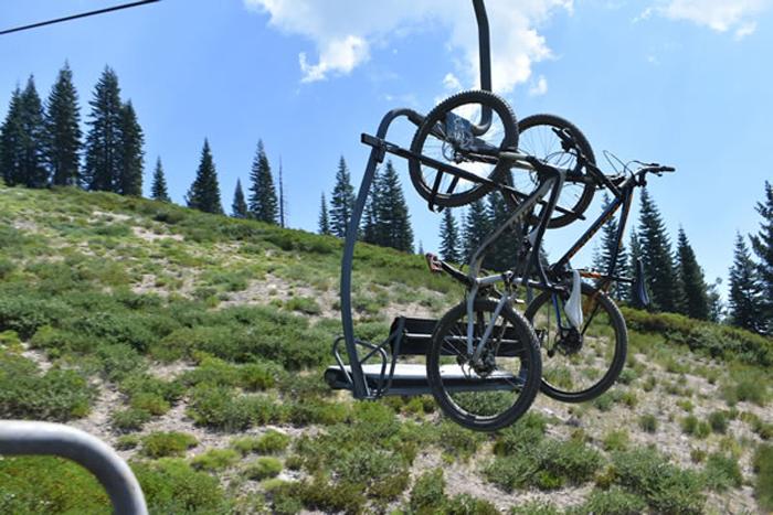 MTB Lift Access at Mount Shasta