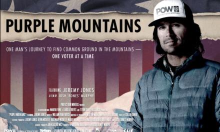Jeremy Jones in Purple Mountains Documentary