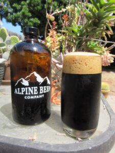 Earn Your Beer Alpine Beer Company Black is Beautiful