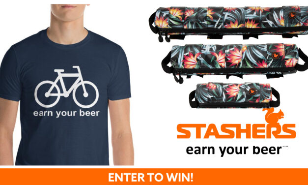 Win a STASHERS Adventure Bag and Earn Your Beer T-Shirt