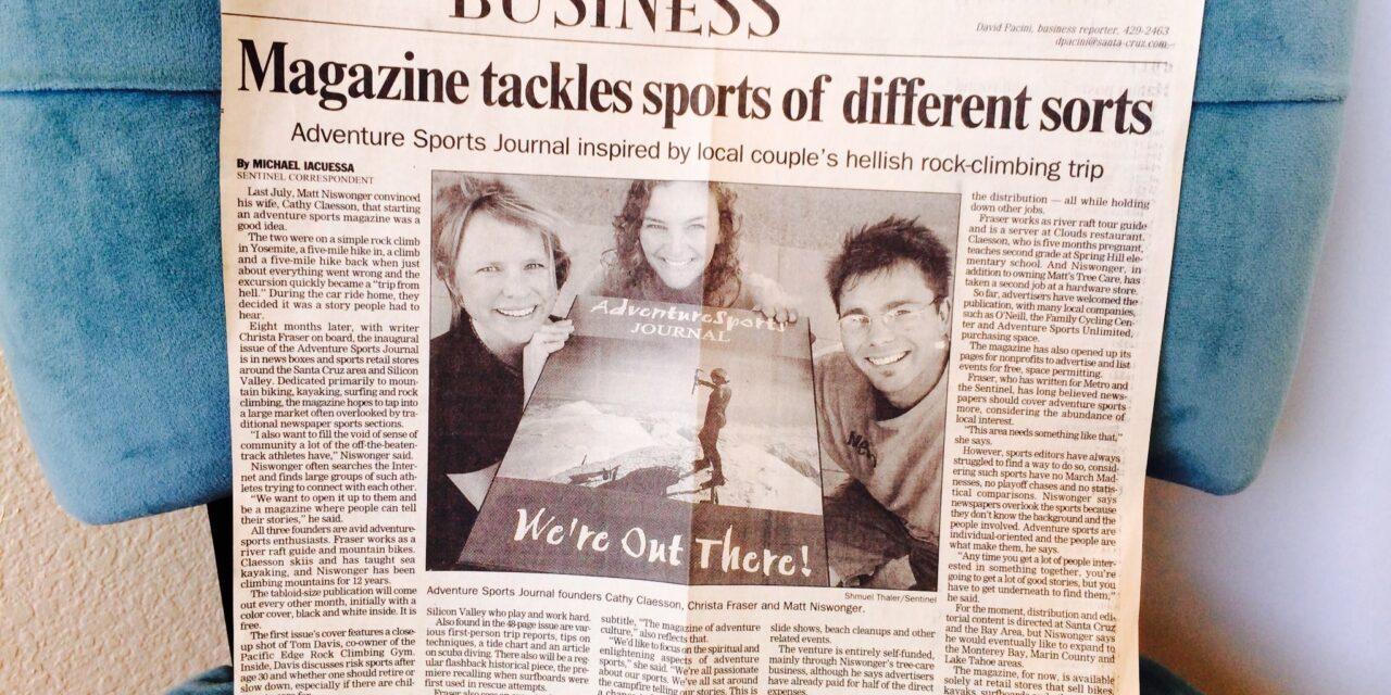 Adventure Sports Journal Celebrates 20 Years