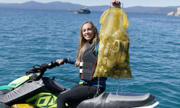 SCUBA Dive Team Removed 8,122 Pounds of Trash from Lake Tahoe's East Shore