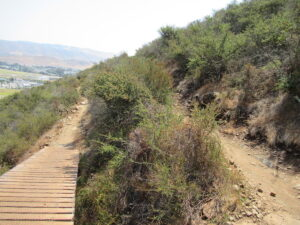 Earn Your Beer in San Luis Obispo image of a trail