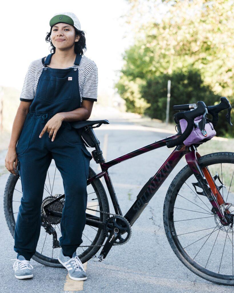 Radical Adventure Riders member Natalia Cortes