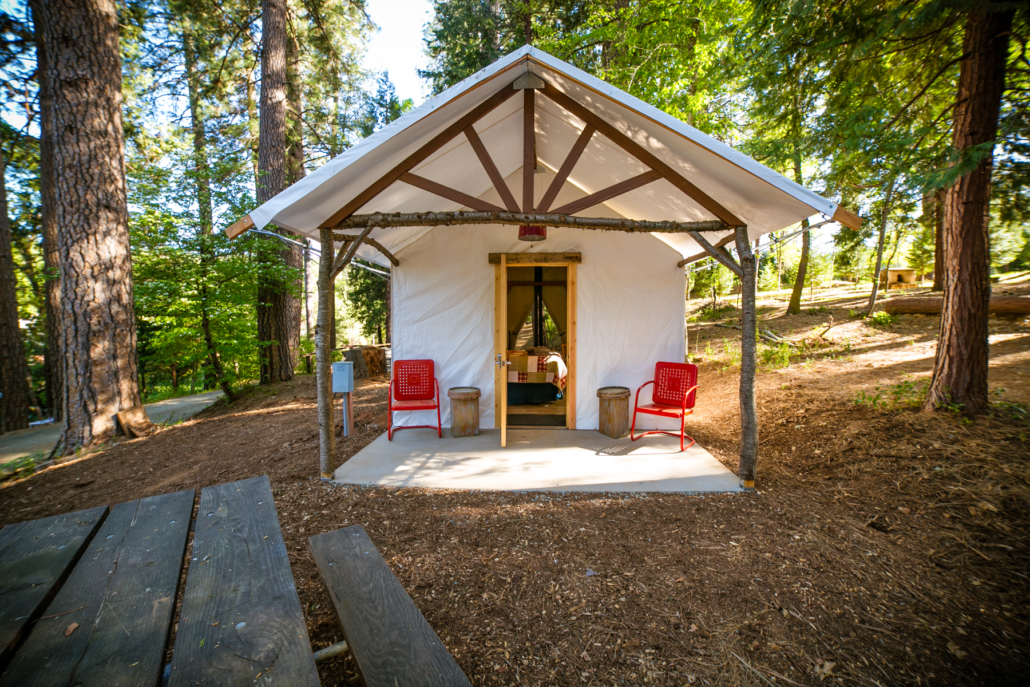 Glamping: Inn Town Campground, Nevada City
